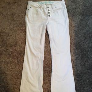 Denim - White bootcut jeans
